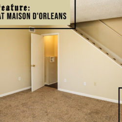 floor plans at Maison D'Orleans