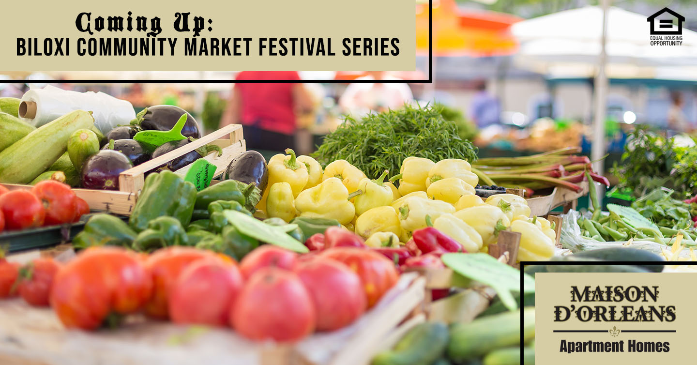 Coming Up: Biloxi Community Market Festival Series