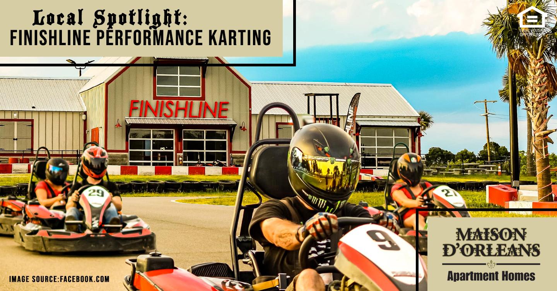 Local Spotlight: Finishline Performance Karting