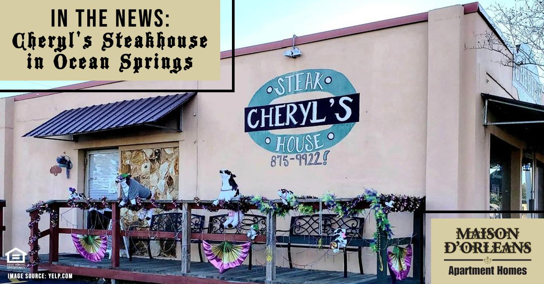 Cheryl's Steakhouse in Ocean Springs