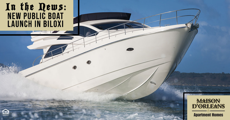 new public boat launch in Biloxi