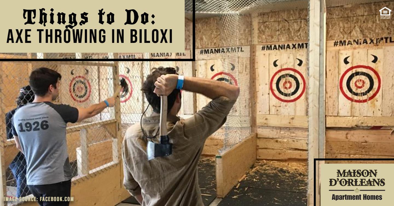 axe throwing in Biloxi