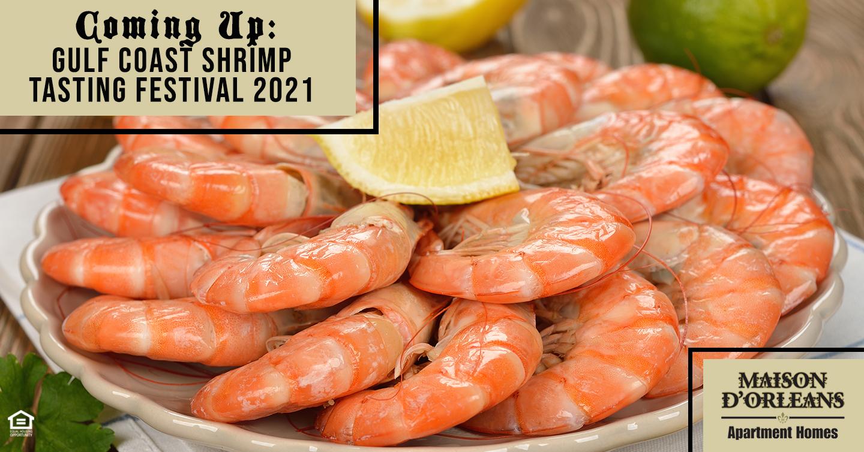 Coming Up: Gulf Coast Shrimp Tasting Festival 2021